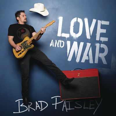 Brad Paisley - Love and War - Album Download, Itunes Cover, Official Cover, Album CD Cover Art, Tracklist