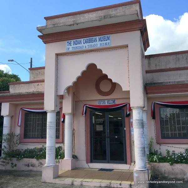 exterior of Indian Caribbean Museum in Carapichaima, Trinidad