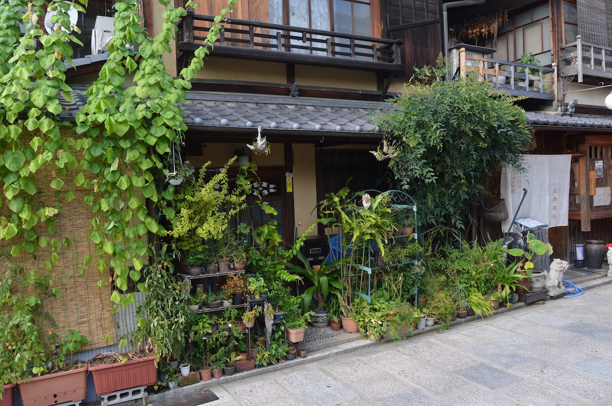 Narrowest House In The World Noel S Garden Blog A Hard Look At The Japanese Garden