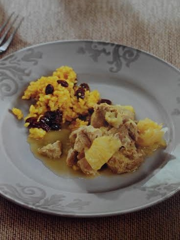 Receta arroz con curry thermomix