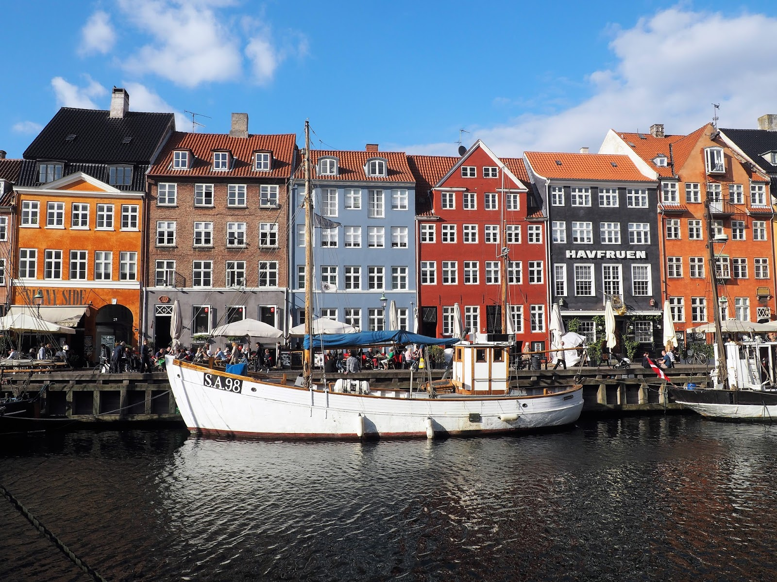 Coloured houses at Nyhavn, Copenhagen