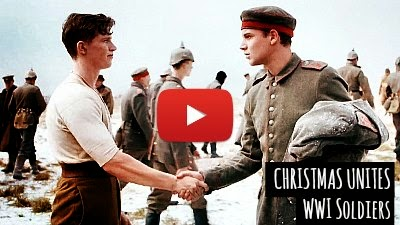 Watch how Christmas eve united the British and German soldiers during the WWI era in 1914 as Christmas Truce, featured in Sainsbury's new Christmas Ad via geniushowto.blogspot.com Emotional humanity videos