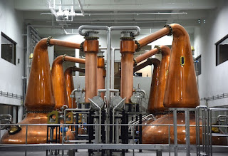 Distillation process at Kavalan Distillery