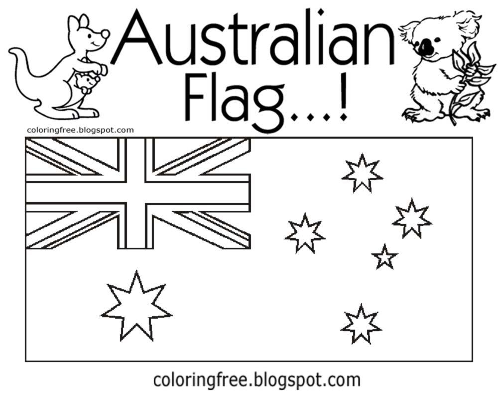 Australia Coloring Pages - Democraciaejustica