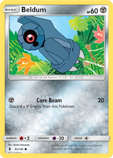 Beldum Guardians Rising Pokemon Card