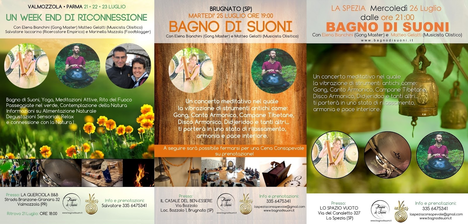 La Spezia Consapevole: Bagni di Suoni, Vibrazioni ed Energia a ...