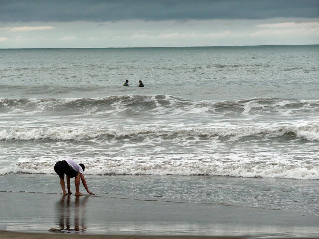 Gente,Mar y bañistas