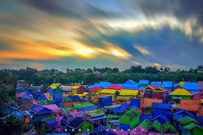 View Keren Kampung Warna - Warni Jodipan