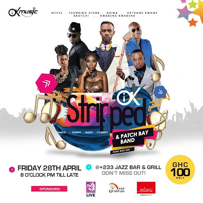Okyeame Kwame Dedicates 2017 OK Stripped Concert To Supporting Hepatitis B