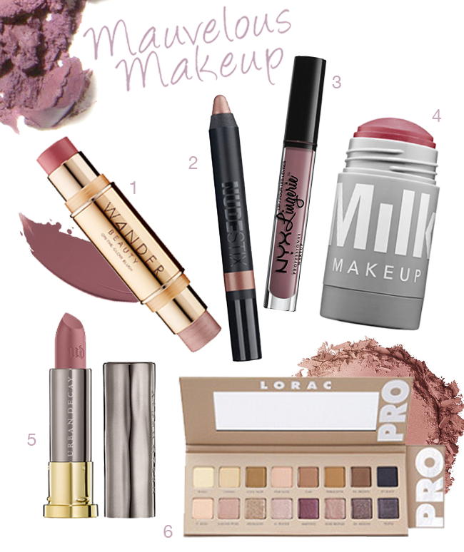 Mauvelous Makeup: Mauve Beauty Picks