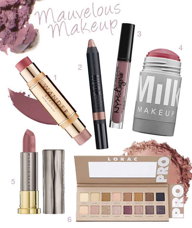 Mauvelous Makeup: Mauve Beauty Picks