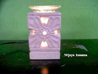 Electric Oil Burner Aromatherapy Code Wijaya Kusuma