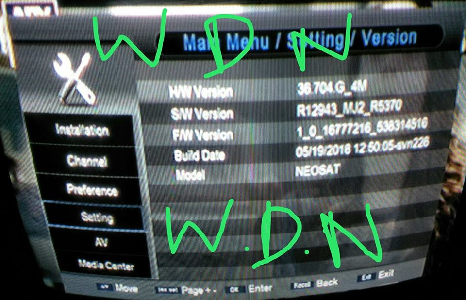 WASI DISH NETWORK: Original Old protocol china receiver good working