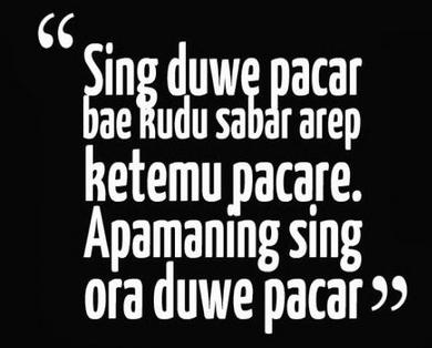 Kata mutiara lucu cinta bahasa jawa, Kata lucu tentang cinta bahasa jawa, buat status fb,