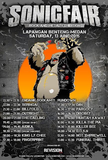 Ini Dia Festival Ekspo Musik Rock & Metal Medan