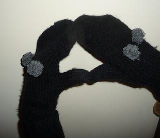 rękawiczki z jednym palcem jak zrobić