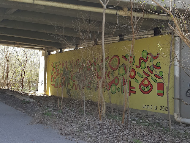 Outdoor Mural Art Installation Jamie Q London Ontario
