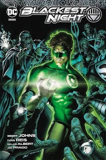 Green Lantern: Najczarniejsza noc okładka