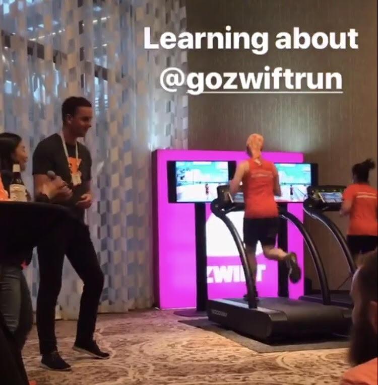 Road Back to Boston: Zwift: Making Treadmill Runs Fun!