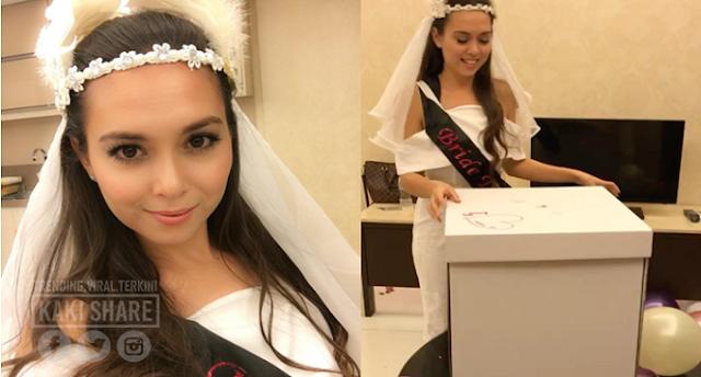 Amboi Lesernya..Baju Bridal Shower Siti Saleha Dikecam Teruk