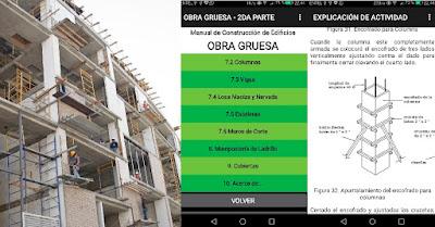 Manual Obra Gruesa-Construcción de Edificios (aplicación Android ingeniería civil)