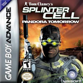 Rom de Splinter Cell: Pandora Tomorrow - GBA - PT-BR - Download