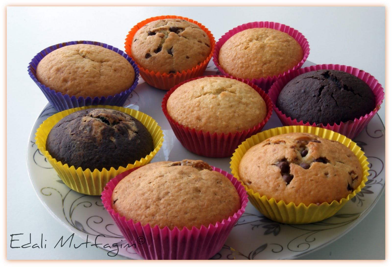 Kakaolu Fındıklı Kapkek (Cupcake)
