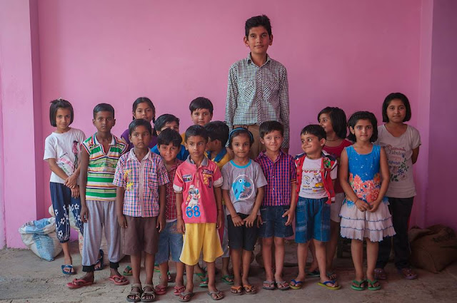 Meet the Indian boy who towers above his classmates at nearly 2 meters tall