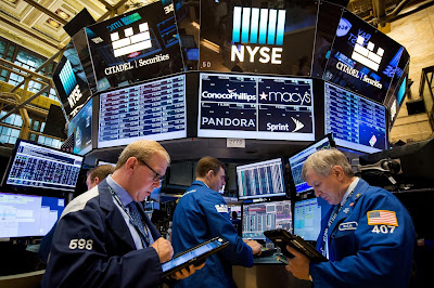 US stocks open lower amid political tensions, Spain attacks