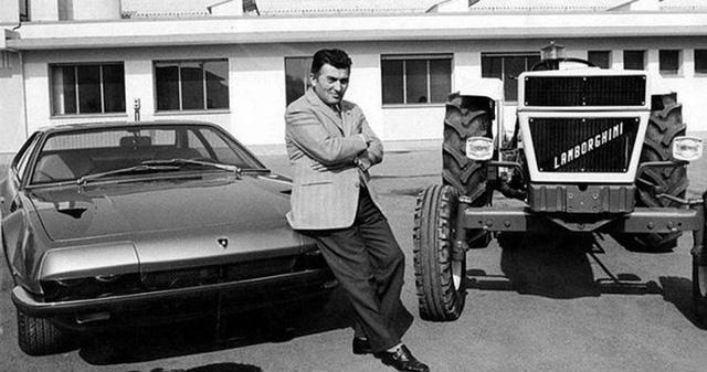 Lamborghini ban đầu là một nhà sản xuất máy kéo và chỉ bắt đầu chế tạo siêu xe sau khi Ferruccio Lamborghini bị chủ của... Ferrari sỉ nhục.