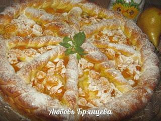 рецепт вкусного фруктового пирога