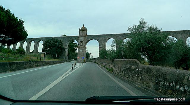 Aqueduto da Água de Prata, Évora, Portugal