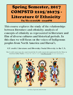 Comparative Studies 2105 Literature & Ethnicity Spring 2017 PDF.