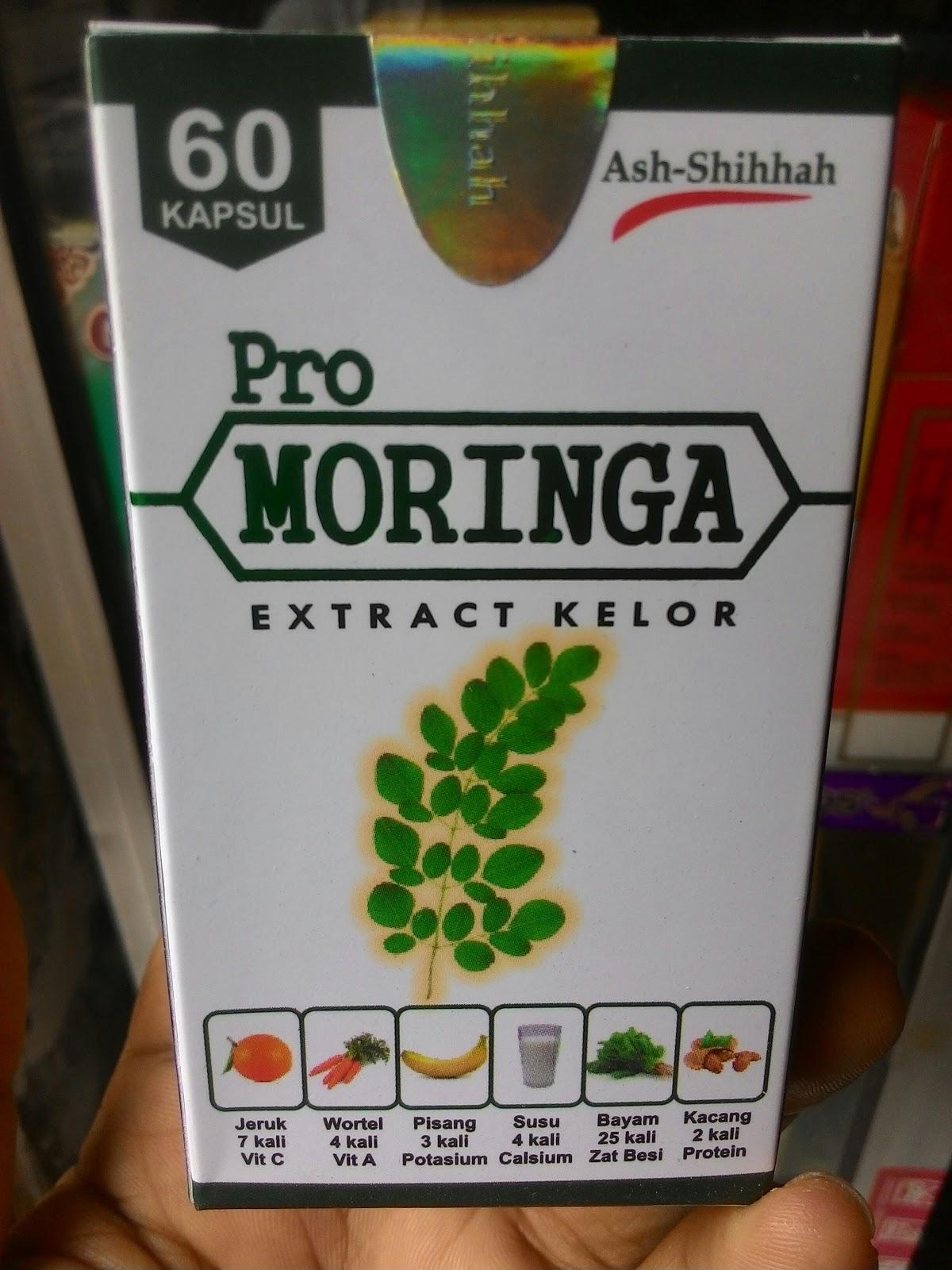 kapsul pro moringa ekstrak daun kelor di surabaya alami