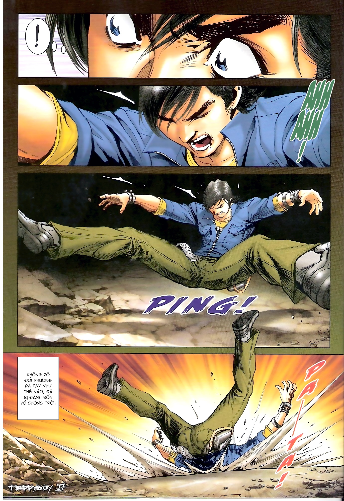 Người Trong Giang Hồ - Chapter 1313: Triệu Kế Bang - Pic 22