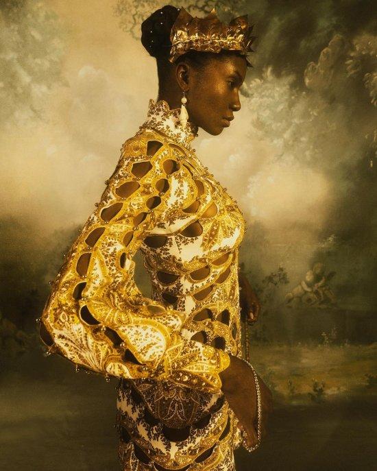 A. J. Hamilton thetogfather instagram arte fotografia mulheres modelos sensuais renascentismo pinturas