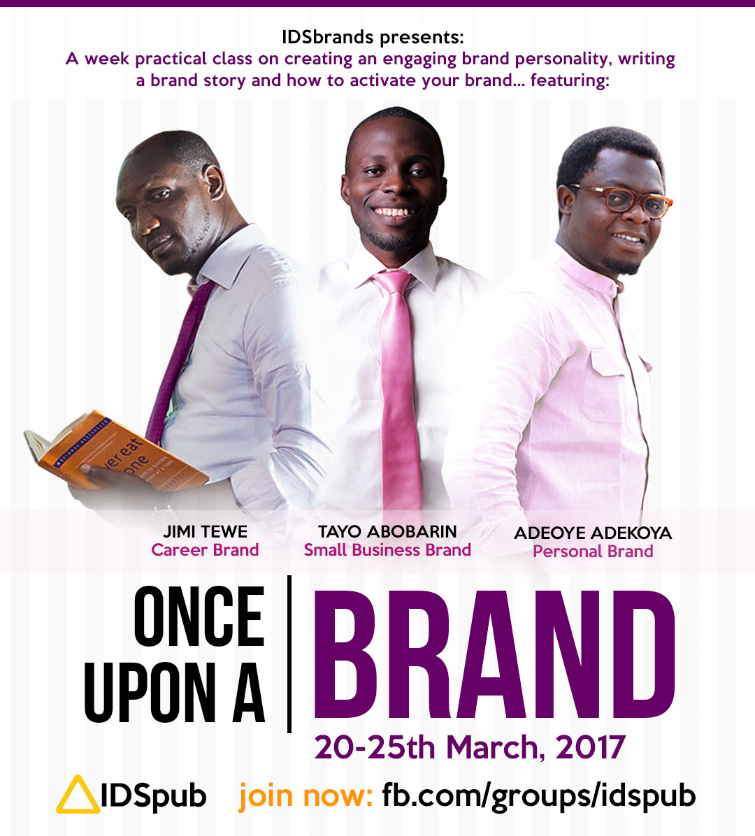 REGISTER FOR ONCE UPON A BRAND