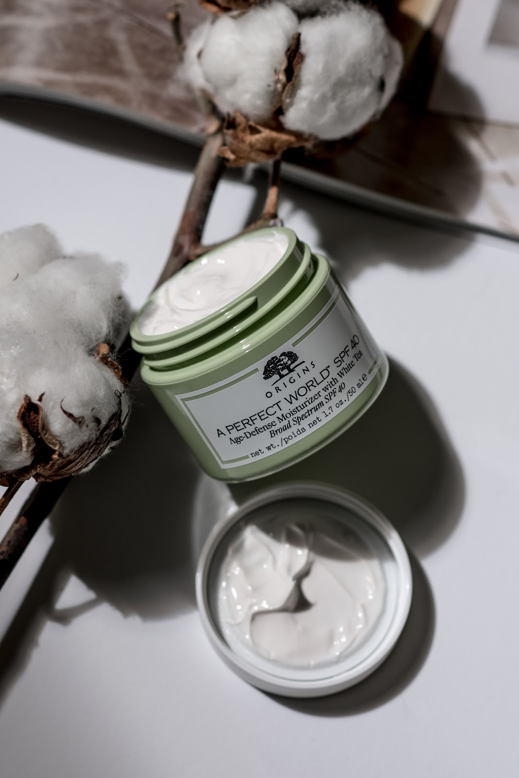 von vogue favourite sun care products sun protection origins age defense moisturizer spf 40
