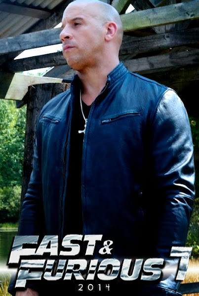 Fan Made Poster- Vin Diesel - Fast And Furious 7
