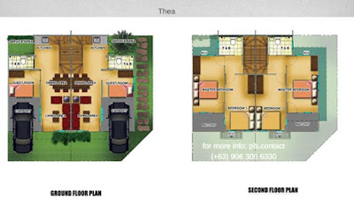 Thea Townhouse in Lancaster New City Floor Plan