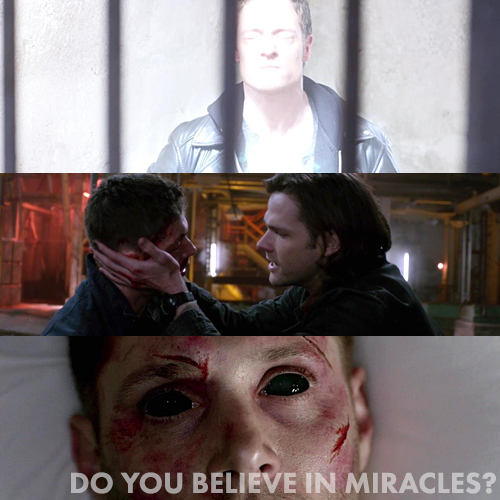Supernatural 9x23 - Do You Believe in Miracles?