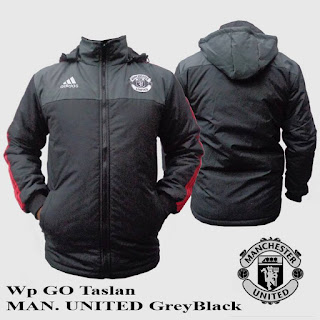 Jaket Waterproof Manchester United