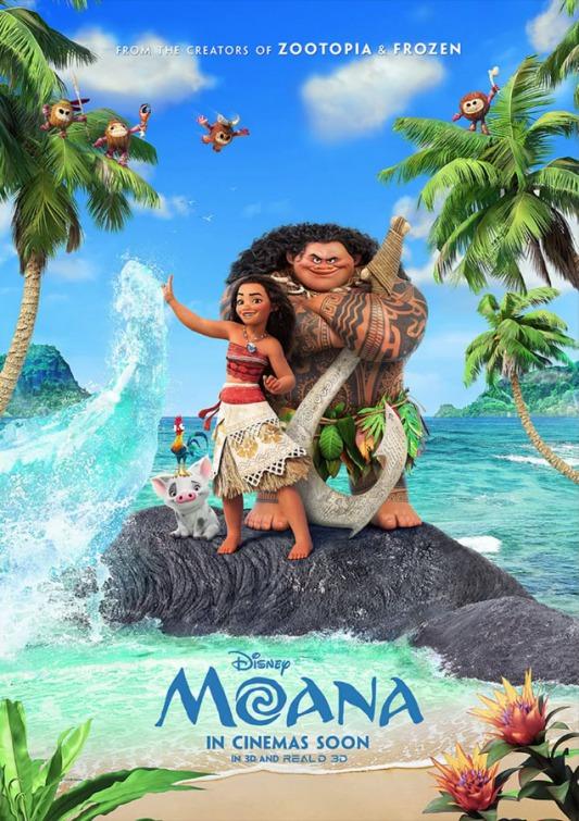 Moana (2016) โมอาน่า ผจญภัยตำนานหมู่เกาะทะเลใต้