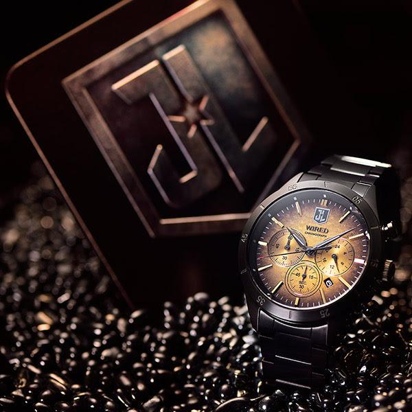 WIRED x 正義聯盟 手錶