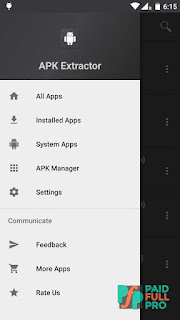 APK Extractor Dark Theme Adfree APK