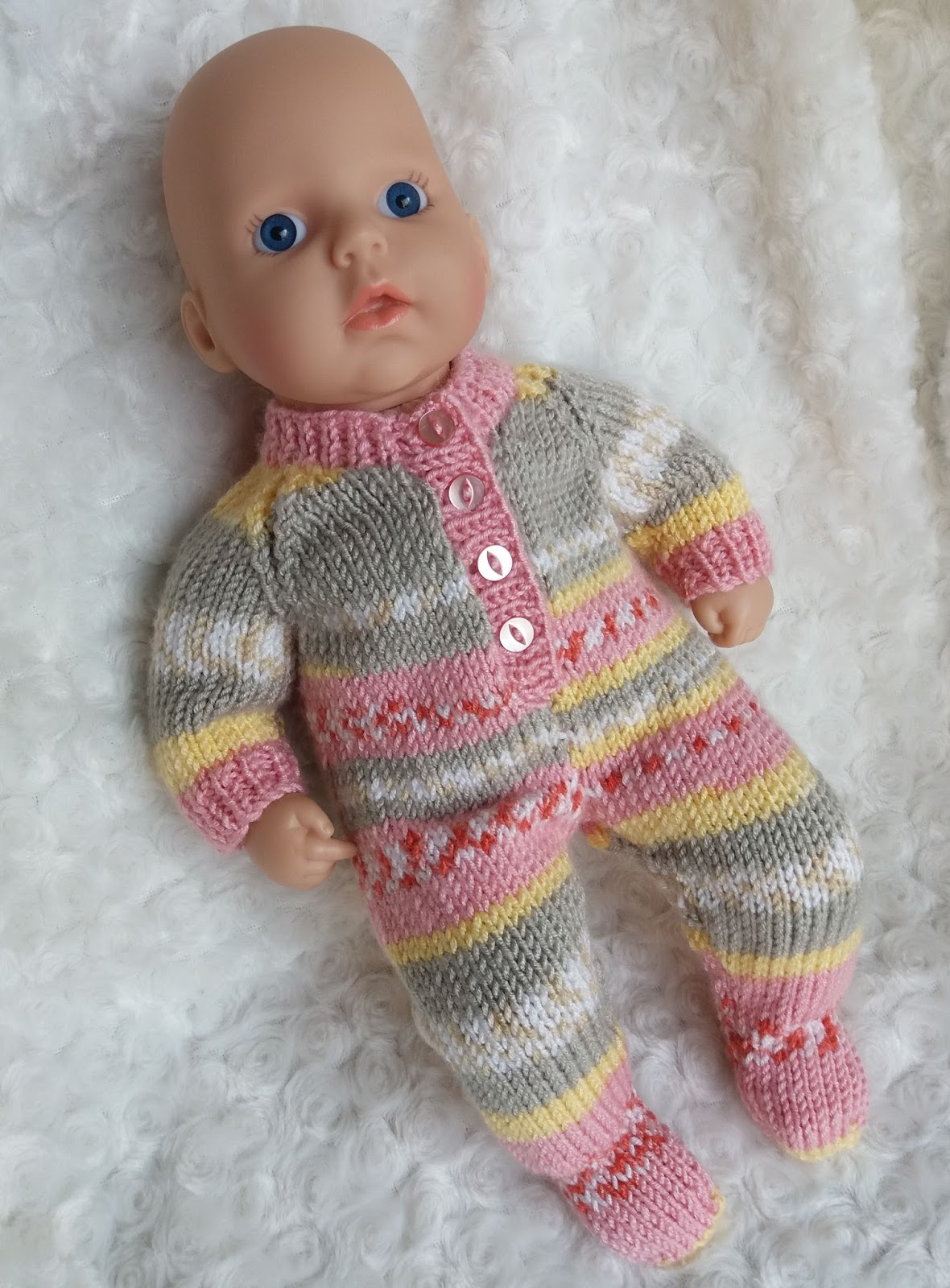 27d4f835e Linmary Knits  Baby Annabell Sleepsuit