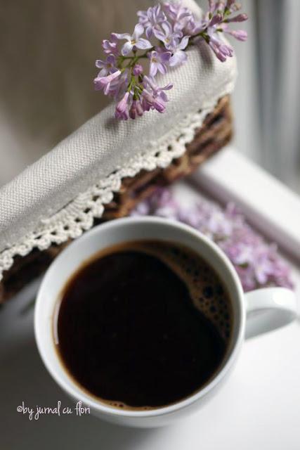 #ceasca de #cafea liliac vintage  #coffee lilac