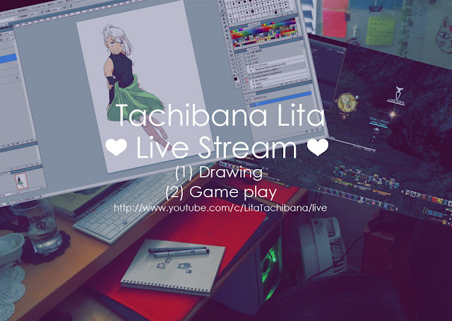 http://www.youtube.com/c/LitaTachibana/live