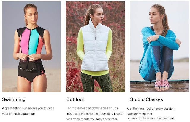 Women's Activewear & Fitness Apparel