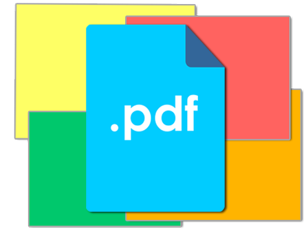 pdf background color